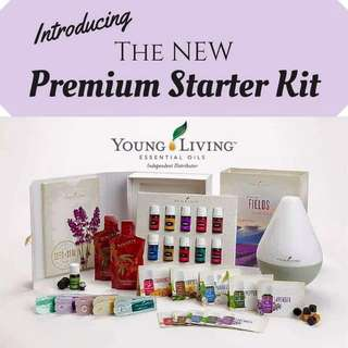 [FREE Lifetime Membership + Other freebies]Young Living - New Premium Starter Kit