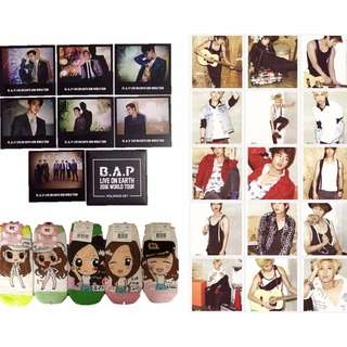 BAP, SHINee & SNSD Merch
