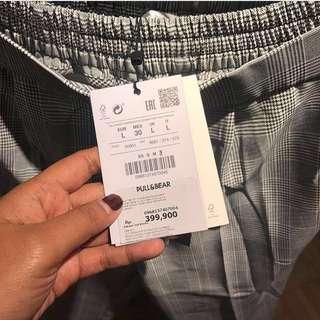 Zara tartan pants