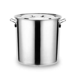 High Quality Stainless Steel Double Bottom Thickened Soup Pail
