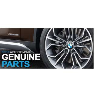 BMW servicing and maintainence replcement parts
