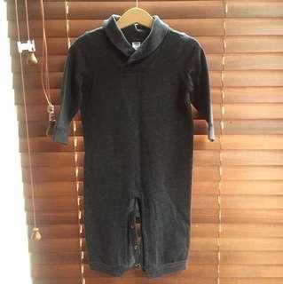 Old Navy fleece jumpsuit, 12-18m