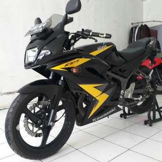 Kawasaki ninja rr th 2014 gress cash/kredit dp 5jt