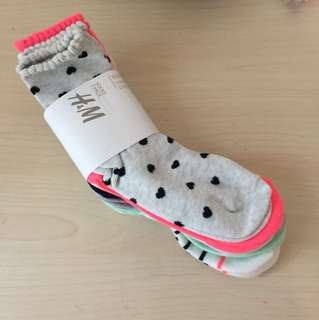 H&M Girl Socks 7 pieces