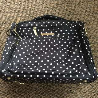 Jujube BFF Duchess Black With backpack and messenger straps