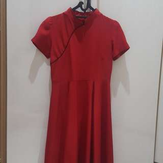 KiVee Red Cheongsam