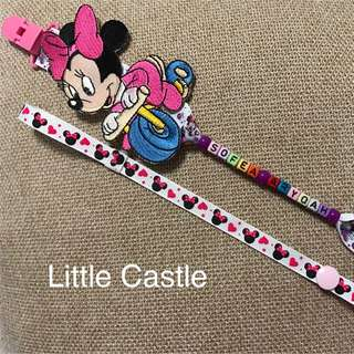Little Personalize Pacifier Clip