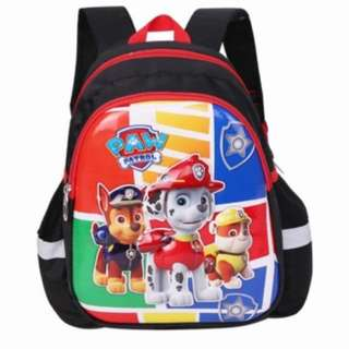 PO Paw Patrol kids bag brand new ht 28cm suitable for pre school use only