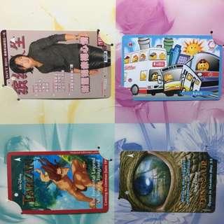 MRT Card - Tarzan, Dinosaur, Nicolas Tse, Adult Card