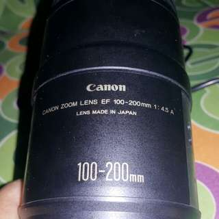 Canon lens ef 100-200mm