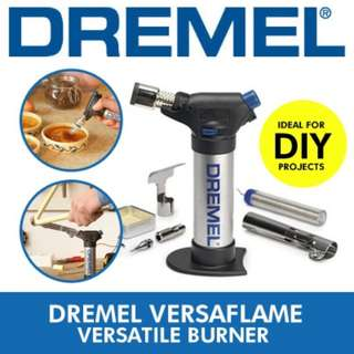 [Free Registered Mail] DREMEL VERSAFLAME] Butane torch – versatile stationary burner for both DIY and hobby projects