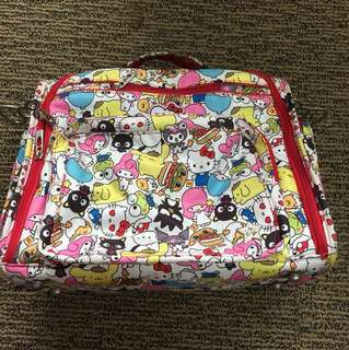 Jujube BFF Hello Sanrio with backpack and messenger straps