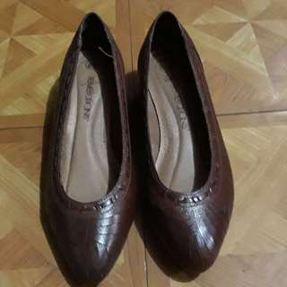 Imported Tan Office shoes
