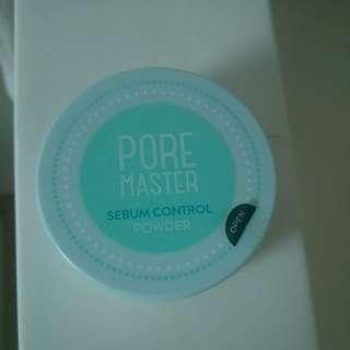 Pore Master sebum control powder