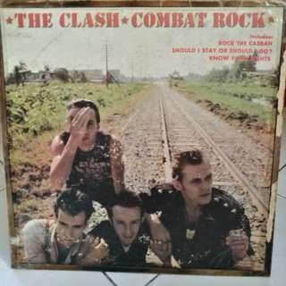 THE CLASH COMBAT ROCK VG