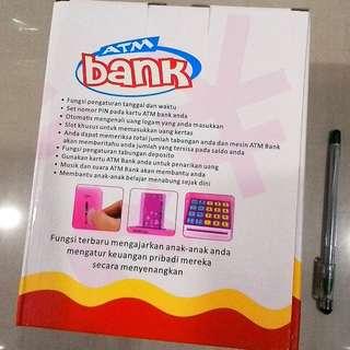 Mainan Anak Mini ATM Bank Celengan Anak