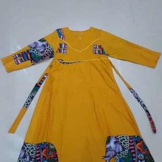 Long dress / baju muslim gamis murah jual cepat