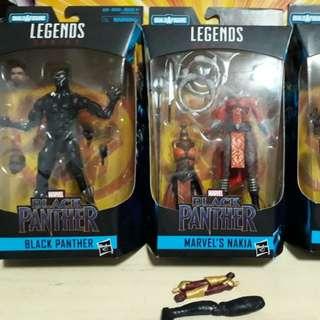 Marvel legends black panther erik killmonger mcu baf okeye
