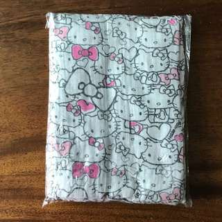 FREE MAIL! New Hello Kitty Muslin Swaddle Cloth