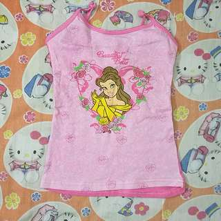 Princess Girl Singlet 4T