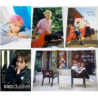 Jaejoong, SHINee & EXO Official Folded Posters