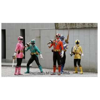 Samurai Sentai Shinkenger Teks Indonesia Episode Lengkap