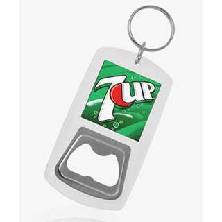 Acrylic Bottle Opener with Keychains for Souvenirs and Giveaways