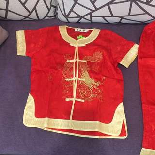 Kid's new cheongsam set
