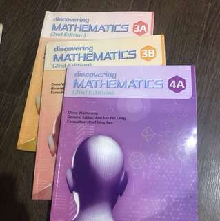 Math Discovering textbooks