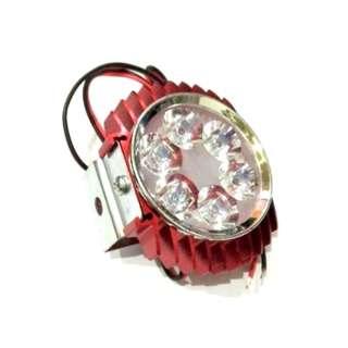 LAMPU TEMBAK 6 LED RED