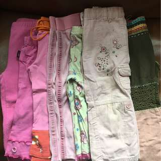 Kids Girl Clothes $20 for the bundle (6 girls skirts. 7 girls pants / trousers). Pick up only.