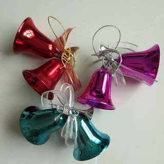 Christmas or Party Bells Decorations