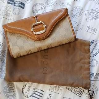 Gucci horsebit long wallet