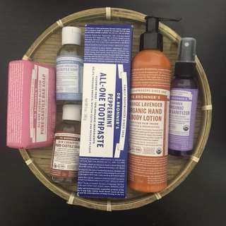 DR. BRONNER'S SKINCARE/BODY CARE PRODUCTS