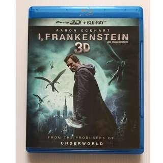 I, Frankenstein 3D Blu Ray + Blu Ray