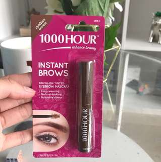 1000Hour Eyebrow Mascara in Medium Brown