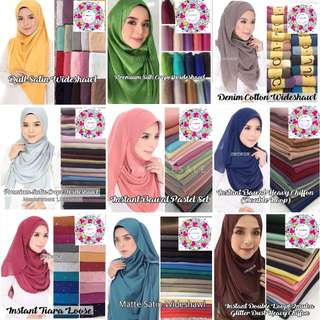 Instant Tudung & shawl