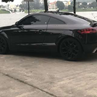 Audi TT and Mini Cooper available for rent