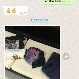 Testimoni from singapore buyer 🙏