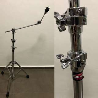 Gibraltar 6609 Double Braced Cymbal Boom Stand w/Traditional style Swing Nut