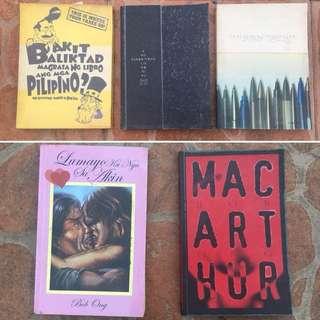 Book bundle 2 - Bob Ong