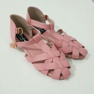 Flatshoes Baru Peach
