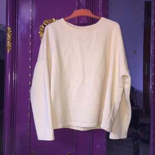 Pull & Bear Soft Yellow Sweater