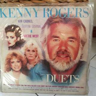 KENNY ROGERS - DUETS WITH KIM CARNES ETC VG