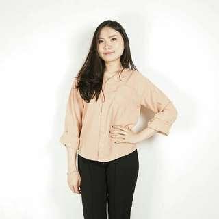 Plain Pocket Longsleeve Shirt