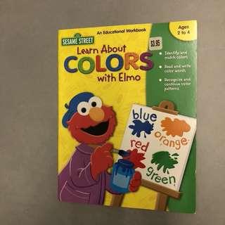 Preschool Workbooks - Colorado with Elmo
