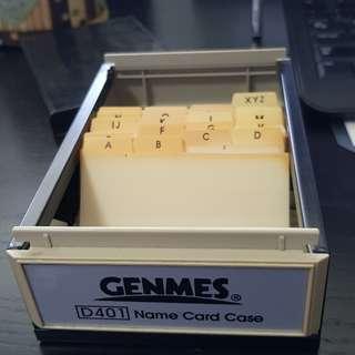 name card storage box