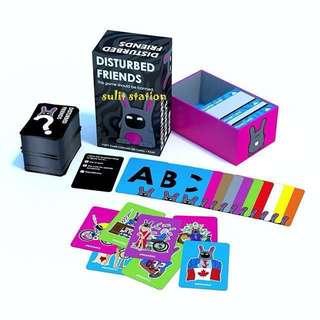 DISTURBED FRIENDS FAMILY FUN CARD GAMES