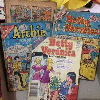 Archie And Betty and Veronica