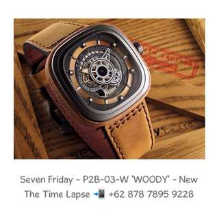 Seven Friday - P2B-03-W 'WOODY' (New in Box)